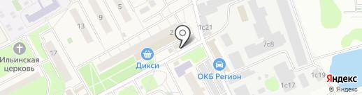 Парасолька на карте Новоивановского