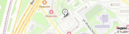 Элекснет на карте Красногорска