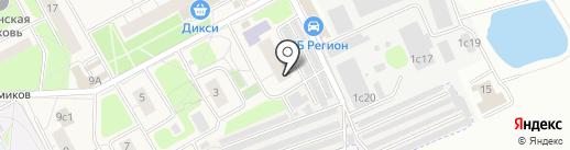 Участковый пункт полиции №7 на карте Новоивановского