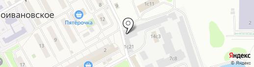 Аэропрестиж на карте Новоивановского