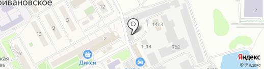 Немчиновка, ГНУ на карте Новоивановского