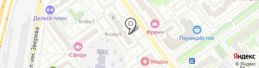 Mafter insurance на карте Красногорска