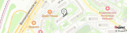 Мишутка на карте Красногорска