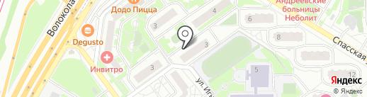 М-маркет 24 на карте Красногорска
