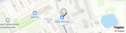 ОКБ-Регион на карте Новоивановского