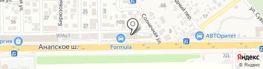 Клевый, магазин товаров для рыбалки на карте Анапы