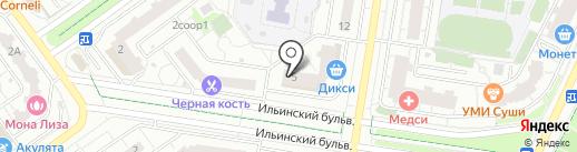 Магазин фастфудной продукции на карте Красногорска
