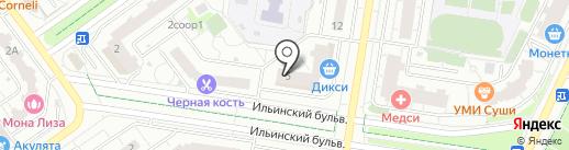 Пятерочка на карте Красногорска