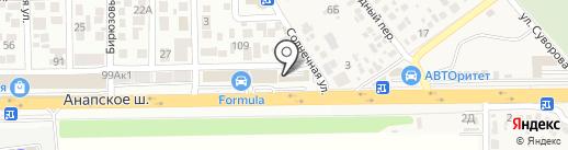Gram на карте Анапы
