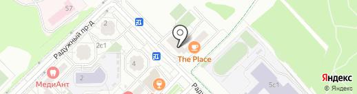 Дента-Лайф плюс на карте Московского