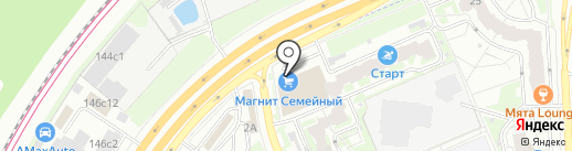 Сити Пицца на карте Красногорска