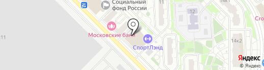МСК ТРИ МЕДВЕДЯ, АНО ДПО на карте Московского