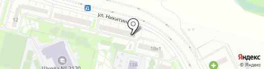Магазин орехов и сухофруктов на карте Московского