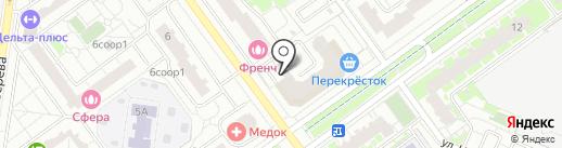 SPAR на карте Красногорска