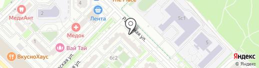 Магазин штор и жалюзи на карте Московского