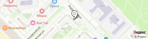 РЕСО-Гарантия, СПАО на карте Московского
