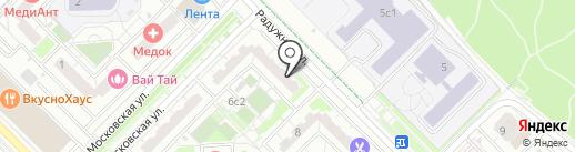 Леди маникюр на карте Московского