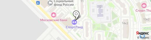 СпортЛэнд на карте Московского