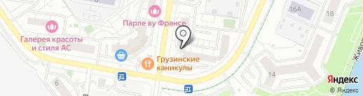 Салон красоты на карте Красногорска