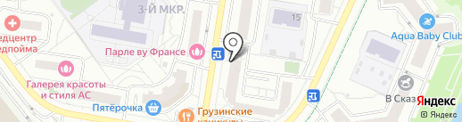 Ути Пути на карте Красногорска