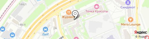 Буханка на карте Красногорска