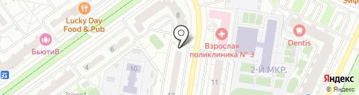 Диана на карте Красногорска