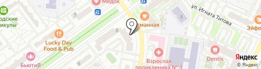Магазин товаров для дома на карте Красногорска