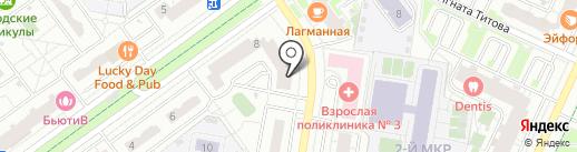 Русский фарфор на карте Красногорска