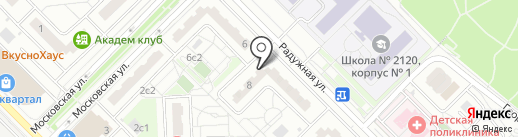 Марта на карте Московского