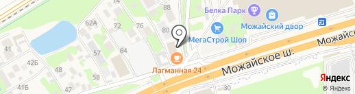 Городской отель на карте Новоивановского