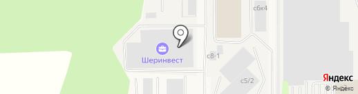 Шеринвест на карте Дубровок