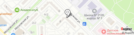 33 пингвина на карте Московского