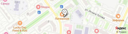Планета Здоровья на карте Красногорска