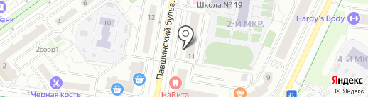 Сокар на карте Красногорска