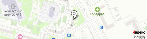 ВкусноХаус на карте Московского