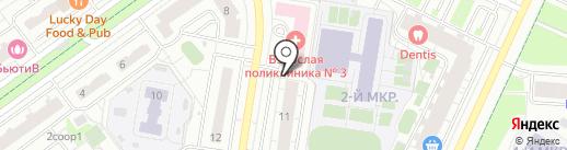 GoGroom на карте Красногорска