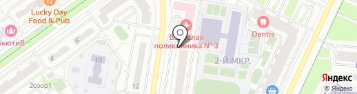 Салон штор на карте Красногорска