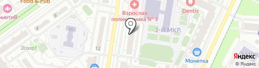 Оранжевый Слон на карте Красногорска