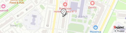 Все для рукоделия на карте Красногорска