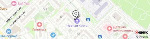 Торт Хауз на карте Московского