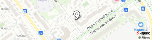 Копченый пятачок на карте Красногорска