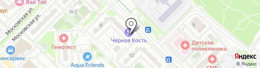 Бай Аква на карте Московского