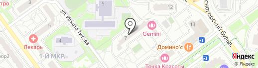 МАНИКЮРиЯ на карте Красногорска
