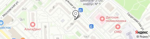 Ветград на карте Московского