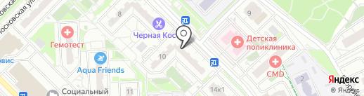 Батон на карте Московского