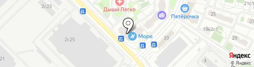 Джульет на карте Московского