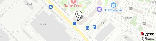 Рикко Вигал на карте Московского