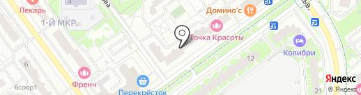 Браво на карте Красногорска