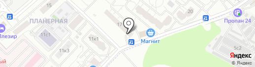 Городская библиотека №11 на карте Химок