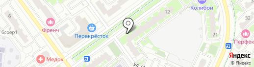 Стройсити на карте Красногорска